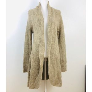 Michael K Made in Italy  Long open cardigan Large